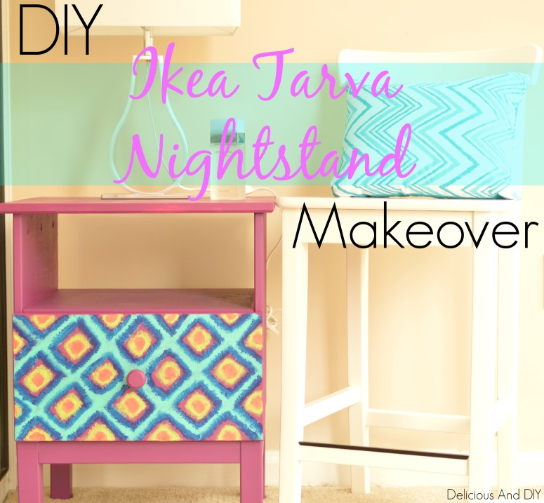 ikea tarva makeover - Delicious And DIY
