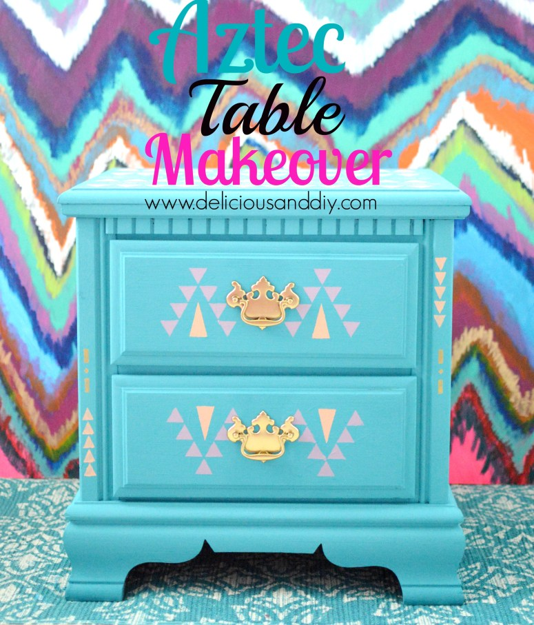 Aztec Table Makeover