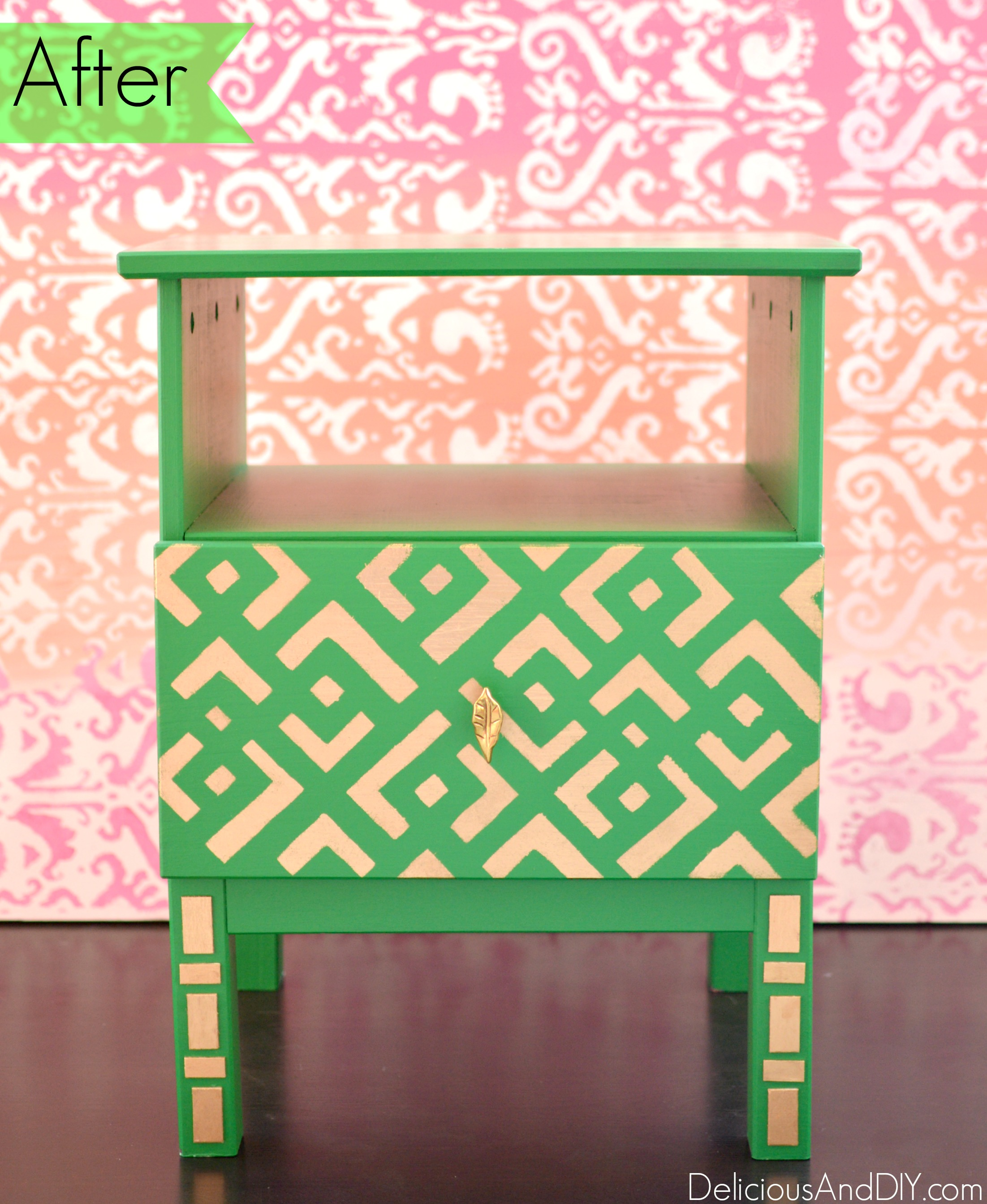 cutting edge furniture. IKEA Tarva Nightstand Makeover| Home Decor| Painted Furniture| Stenciled Ikea Hacks Cutting Edge Furniture