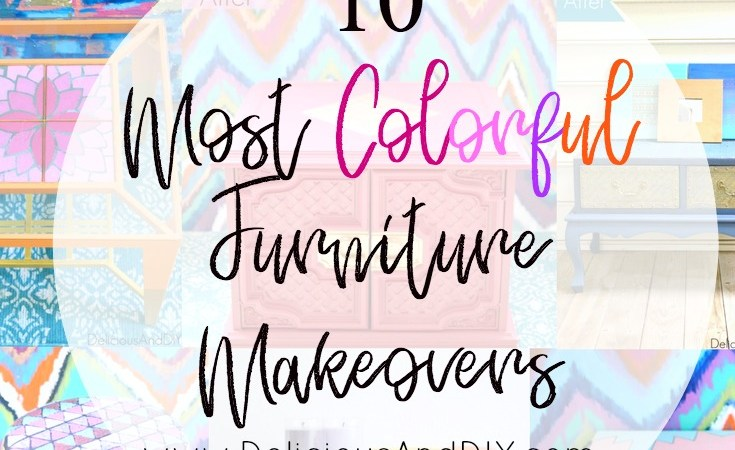 10 Most Colorful Furniture Makeover Ideas