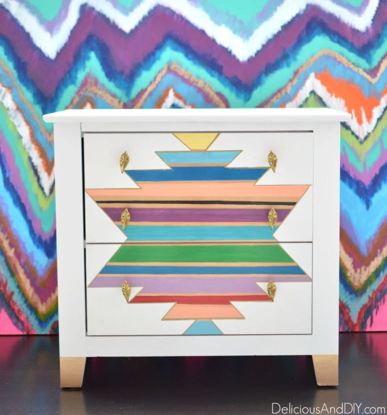 13-bright-and-bold-furniture-makeover-ideas-delicious-and-diy