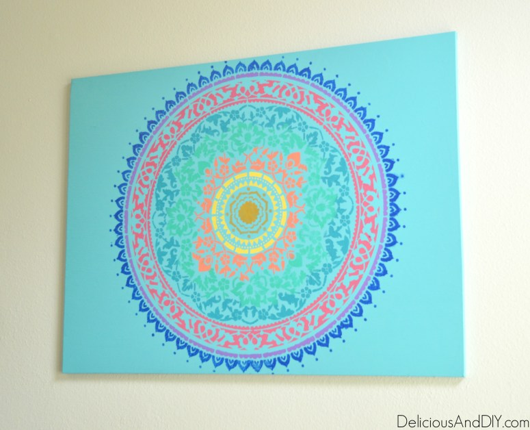 Boho Chic Wall Art - Delicious And DIY