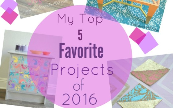 2016 Round-up: My Top 5 Favorite Projects of the Year