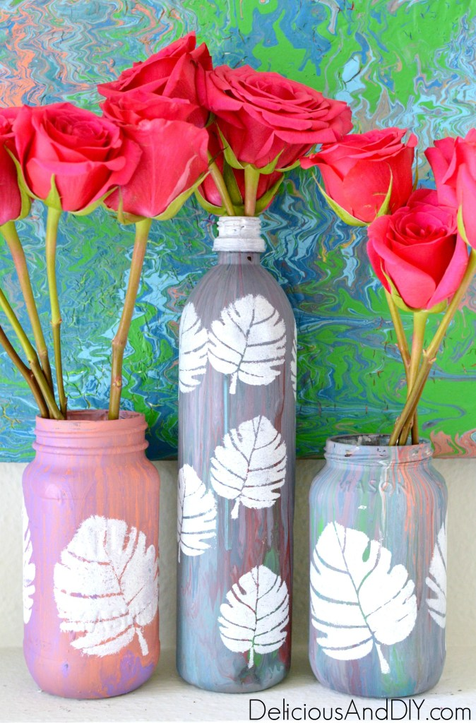DIY Bottle Makeover Ideas- Delicious And DIY