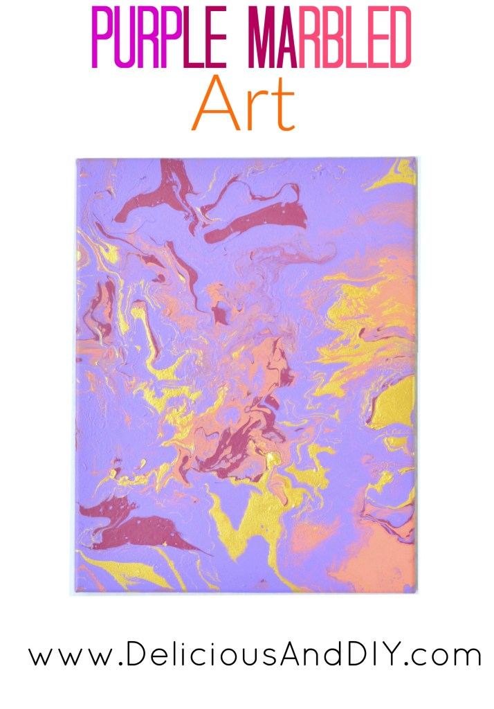 Create a stunning Marbled Art using a couple of different paint colors| DIY Crafts done in under 15 minutes| Wall Art Ideas| Home Decor Ideas| Painted Wall Art Ideas| Canvas Art| DIY Crafts| Dirty Pour Art| Marbled Art|