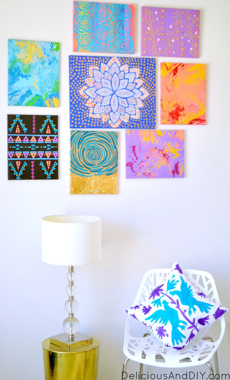 Gallery Wall Update - Delicious And DIY