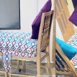 DIY Dining Room Chairs Transformed Into a Bench