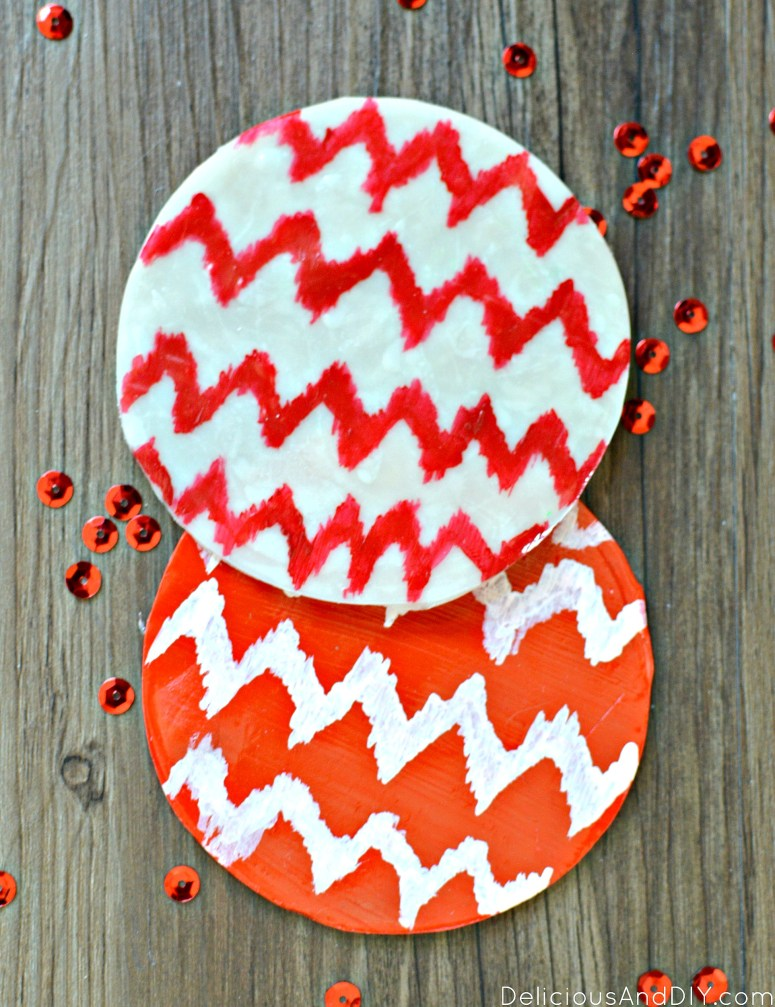 Ikat Clay Coaster| Clay Projects| Clay Craft Ideas| Ikat Pattern | Hand Made Clay Projects| Coaster Ideas