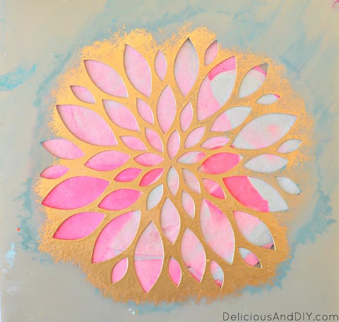 Diy Clay Flower Coaster Delicious And Diy
