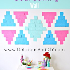 Southwestern Inspired Goal Setting Wall