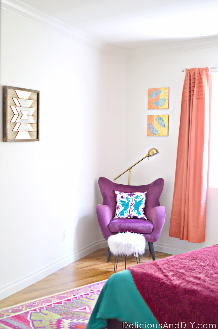 Learn how to give your room a complete budget friendly makeover| Master Bedroom Makeover| Before and After| Room Reveals| Pink and Purple Room Decor| Bedroom Ideas| Room Overhaul Ideas| Budget Friendly Transformations| Before and After| Room Ideas