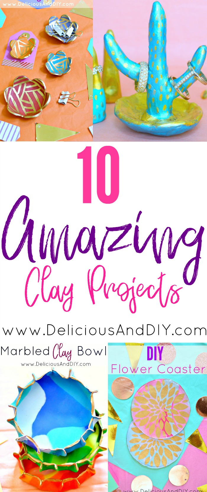 10 Amazing DIY Clay Gift Ideas which are budget friendly and perfect for the holidays| DIY Crafts| Christmas Gift Ideas| DIY Gift Ideas| DIY Creative Clay Projects| DIY Handmade Gift Ideas| Oven Bake Clay Projects| Budget Friendly Gift Options| DIY Crafts| 10 creative gift ideas for Christmas