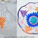Glass Bowl Makeover {Quick Update in Under 15 minutes}