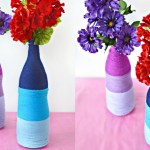 DIY Ombre Yarn Bottles