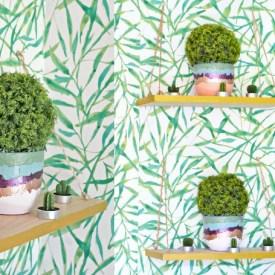 DIY Textured Dollar Store Pots