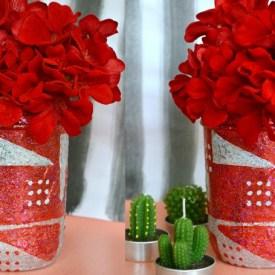 DIY Valentine Day Mason Jar