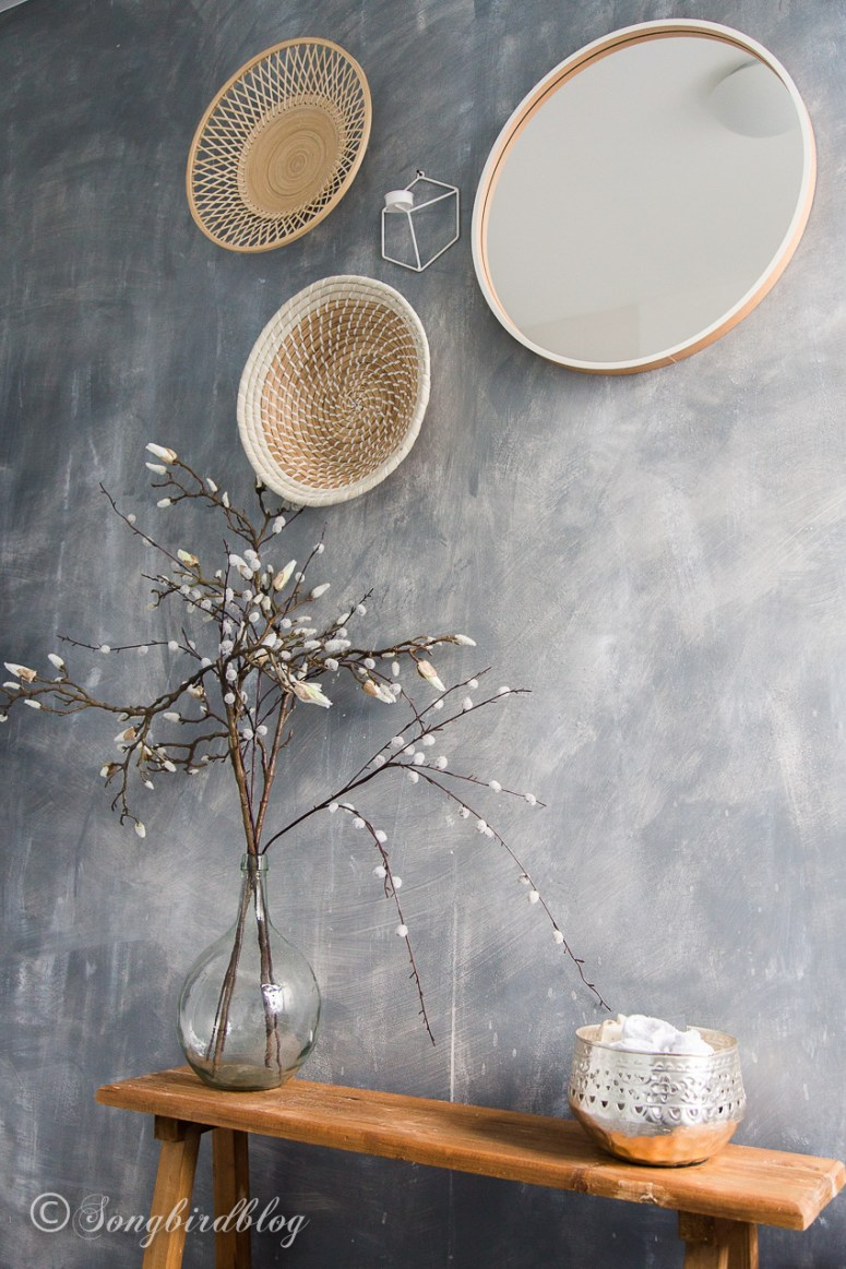 Learn how to create a beautiful concrete painted wall to instantly upgrade your home decor space and to give it a stunning makeover.