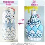 DIY Painted Anthropologie Vase