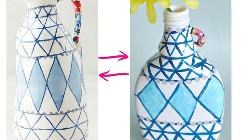 DIY Painted Anthropologie Vase