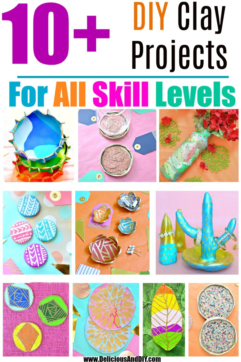 Ten Clay project ideas for all skill levels