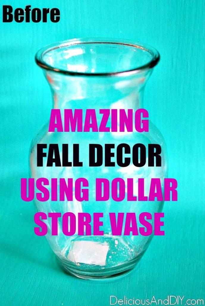 Dollar Store Vase