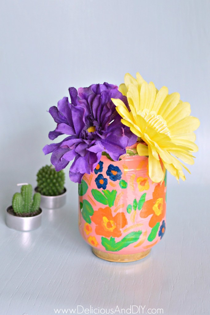 anthropologie inspired spring vase