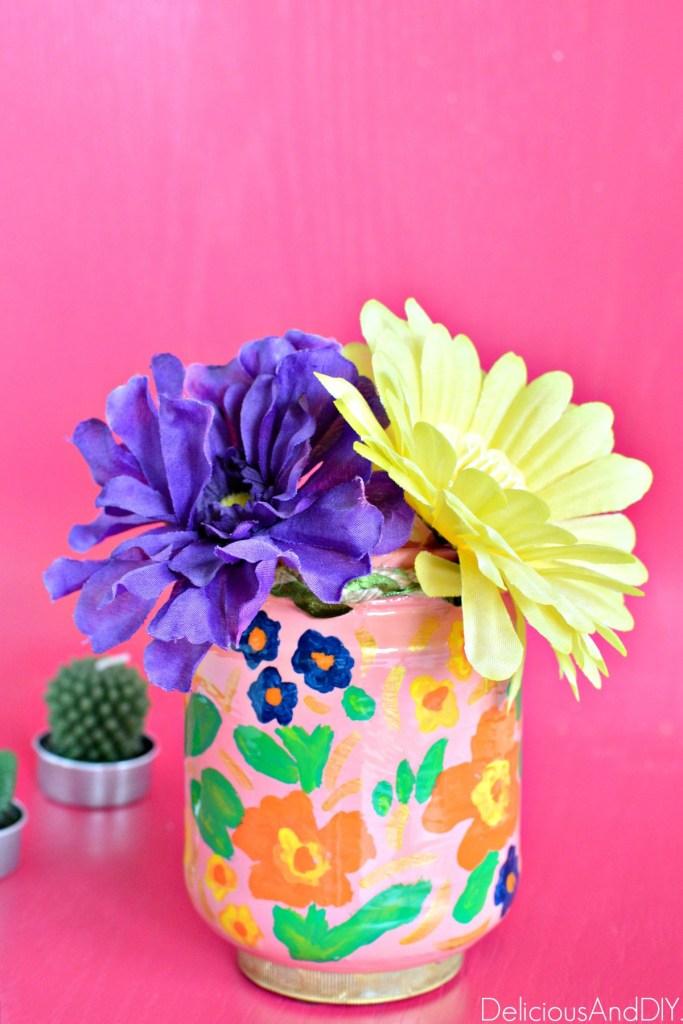 anthro inspired christmas vase