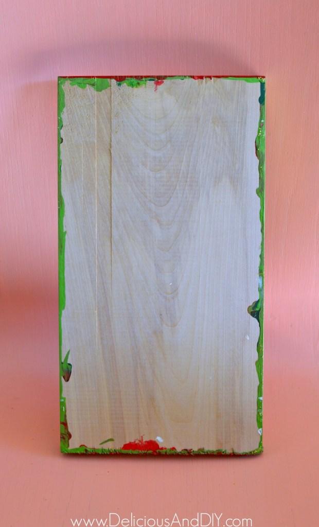 plain wood piece