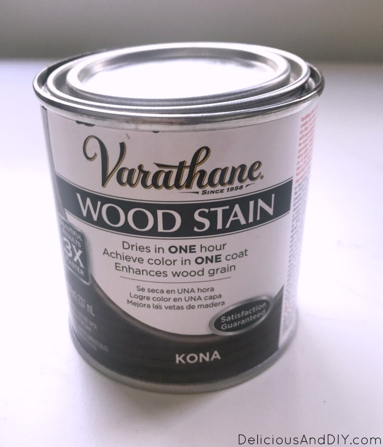 wood stain can