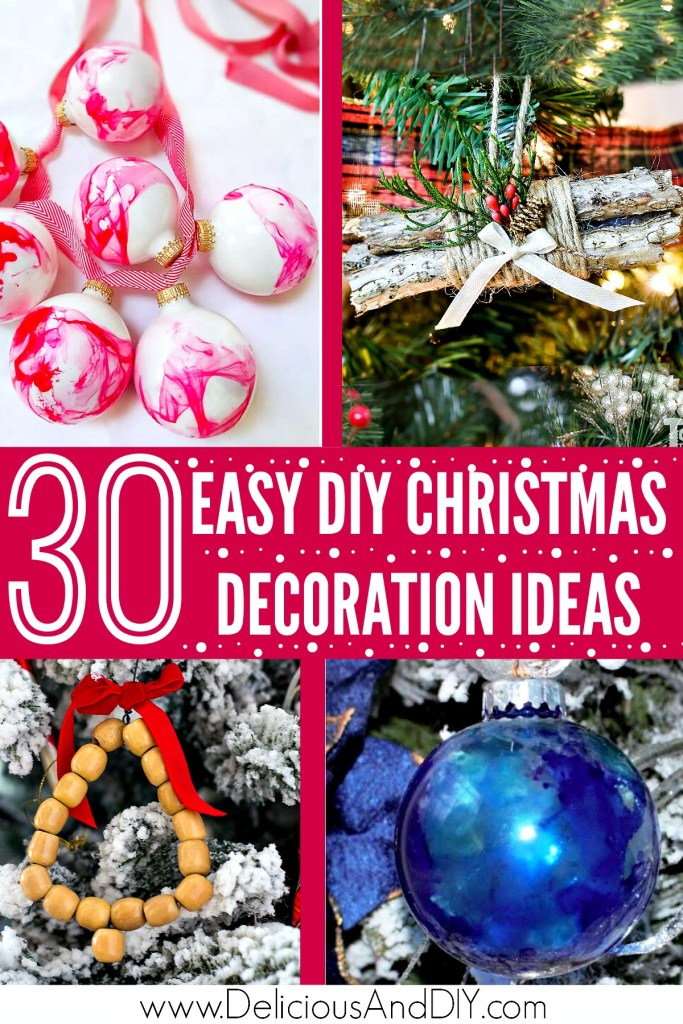 holiday decor diy ideas
