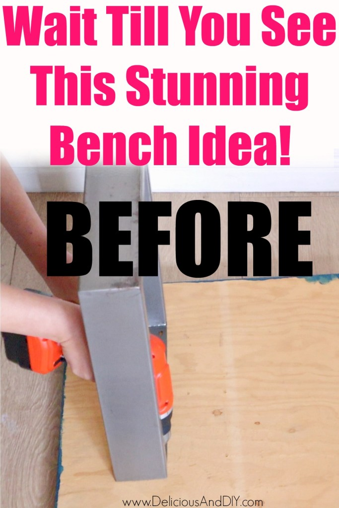 attaching bench legs