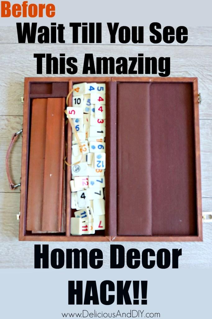 rummikum board game in a briefcase