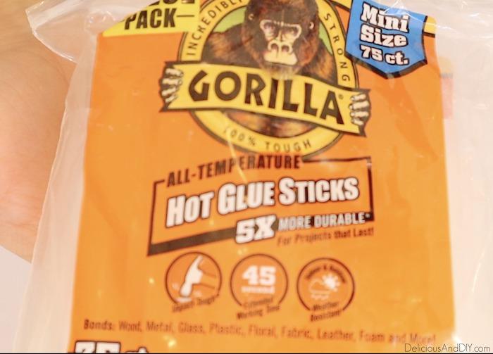 hot glue sticks