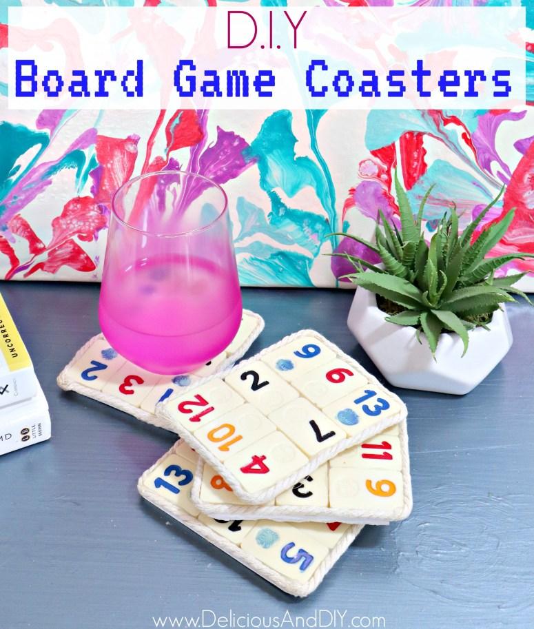 rummikub board game coasters