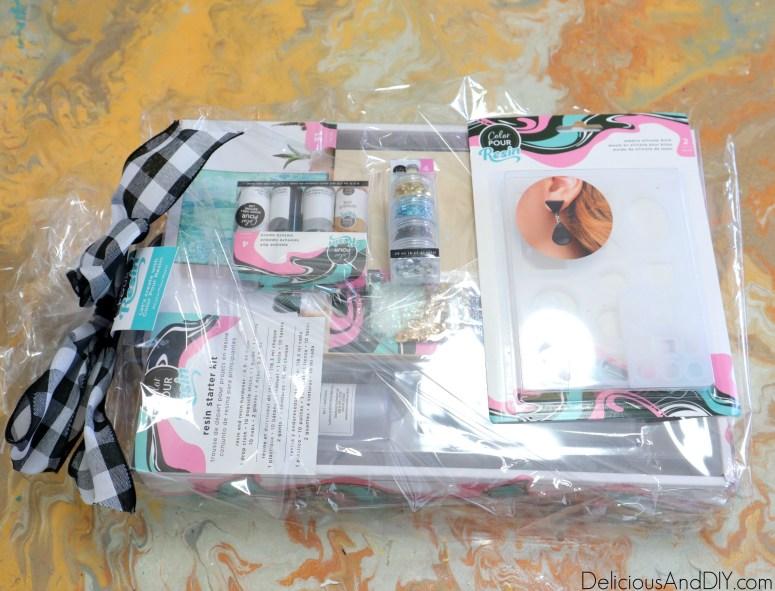 color pour resin kit