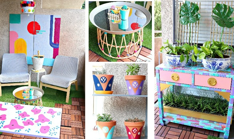 DIY Budget Friendly Balcony Makeover
