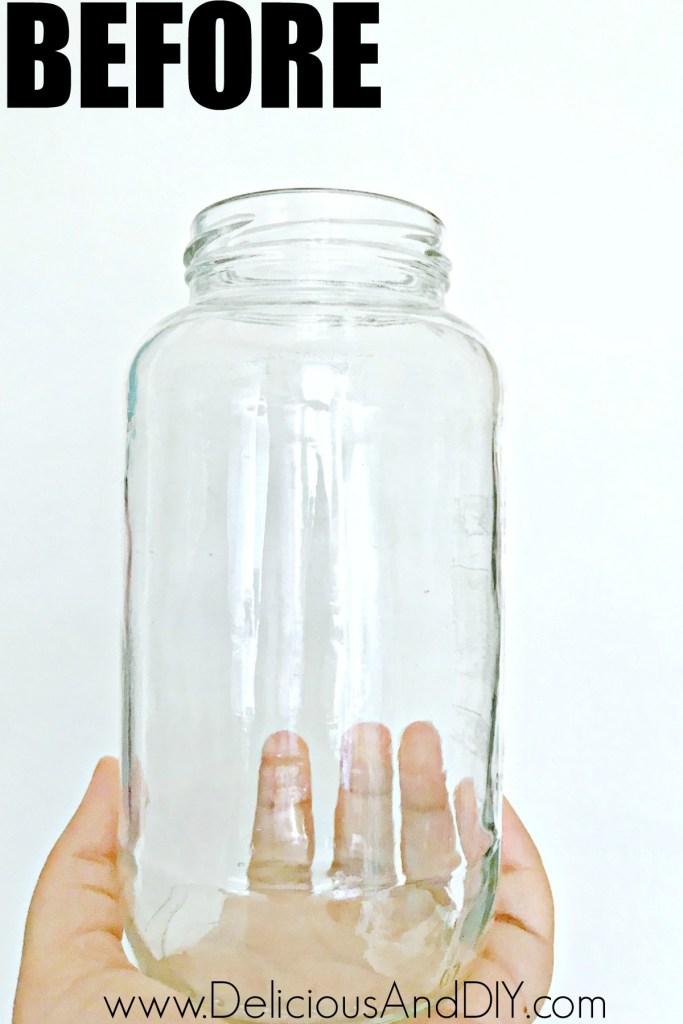 empty glass bottle