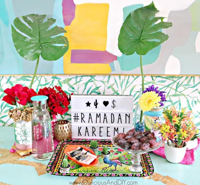 ramadan tablescape