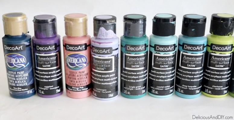 multi surface paints to be used on the magnets