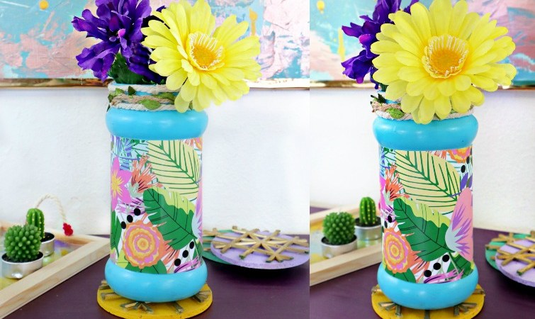 How To Decorate an Empty Vase