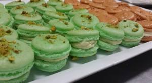 Delicious pistachio macs