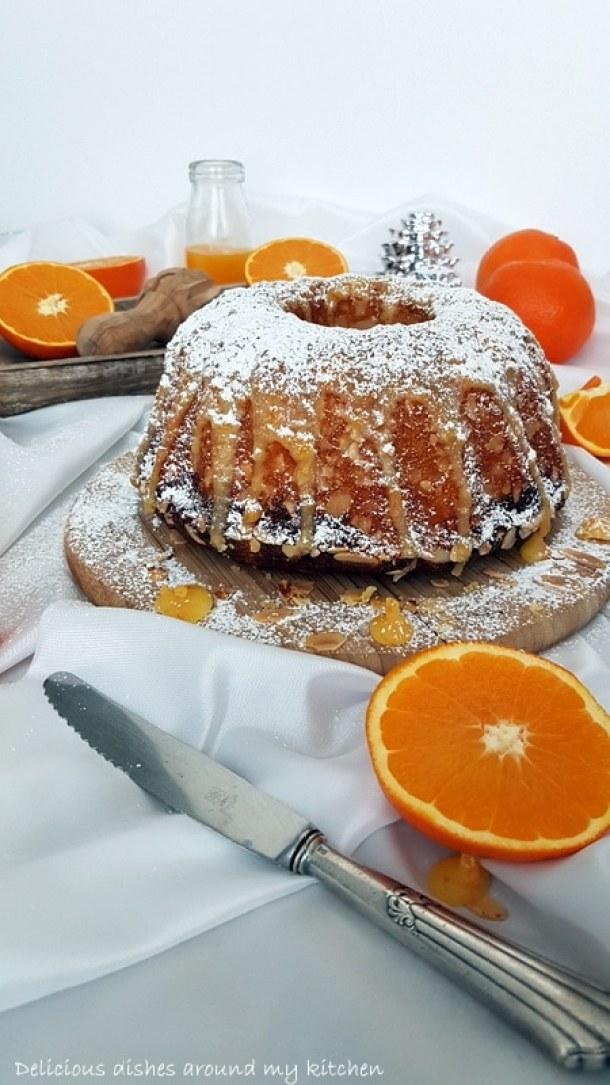 Spanischer Orangen- Gugelhupf