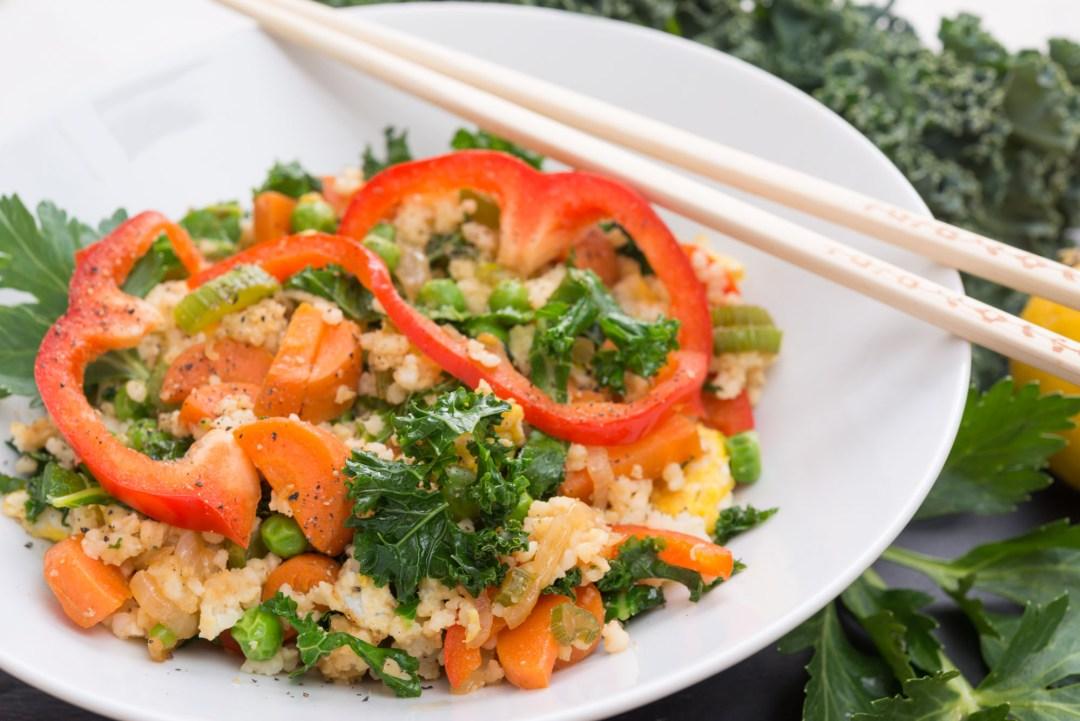 Healthy Millet Vegetable Stir-Fry