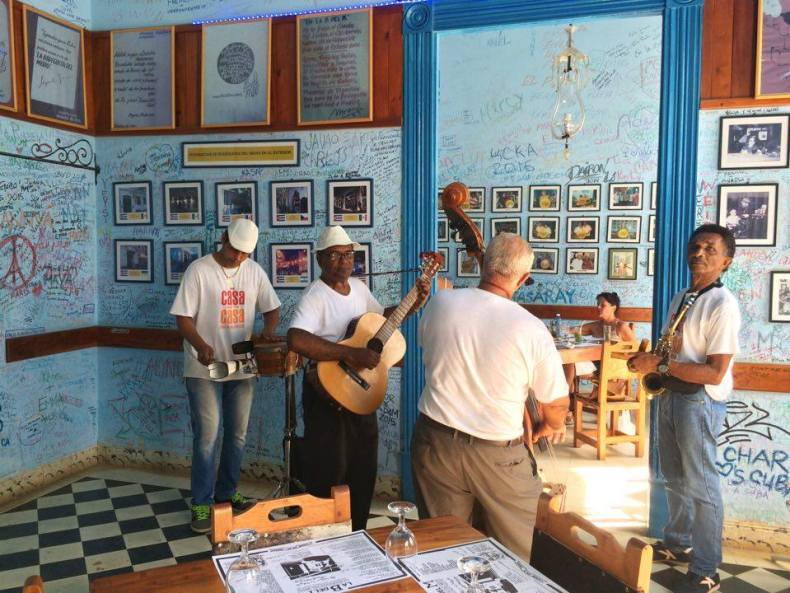 Great music can be heard at pretty much every corner in Cuba, so don't be shy and stop to listen or dance :).