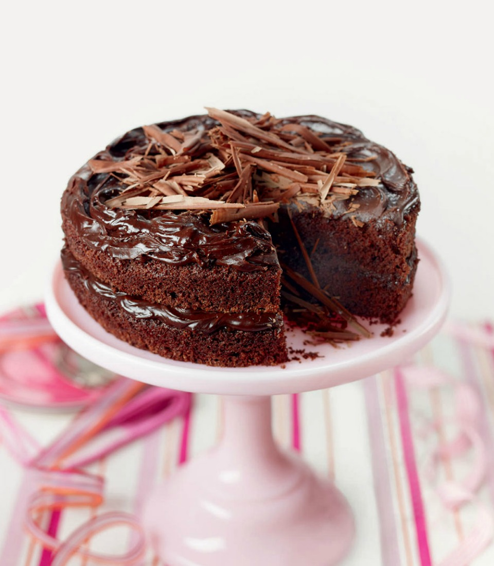 Triple Chocolate Torte Recipe
