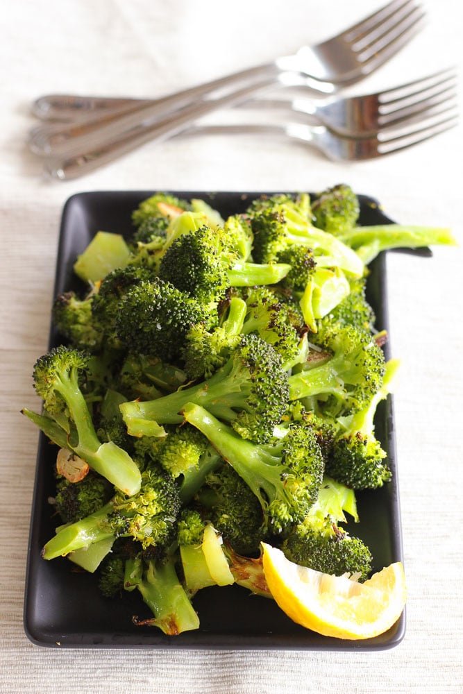 The Best Broccoli You Ll Ever Eat Roasted Of Course