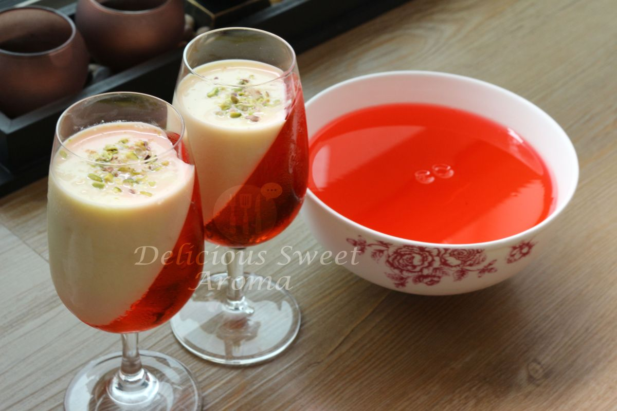 Jelly and Custard Recipe