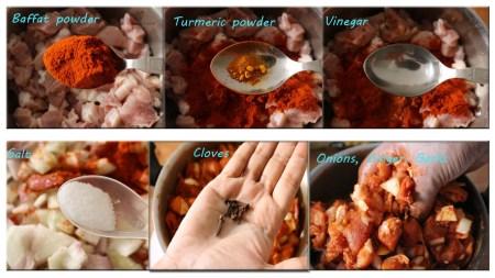 Pork Recipe ingredients | Pork bafat | Delicious Sweet Aroma