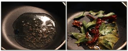Seasoning- semolina dosa