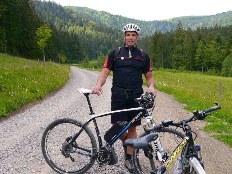 Patrick Faller ist Rad-Profi, Olympia-Teilnehmer und Heimatbotschafter